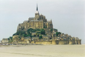 Mont-St-Michel, France -- 1997