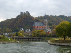 Castle on the Rhine, Germany -- 2008