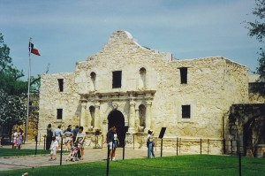 The Alamo -- San Antonio, Texas