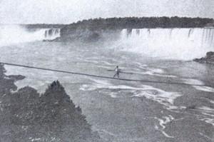 Blondin -- Niagara Falls, 1859