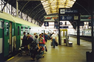 Main train station, Prague (Praha)