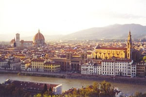 Florence, one of many beautiful places in Italy