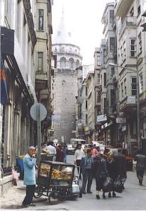 Galata Tower, Istanbul -- built 1348