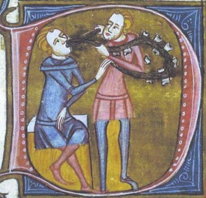 Tooth Extraction, c. 1370 (The British Library)