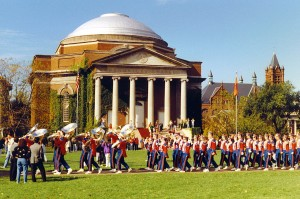 Syracuse marching band 1990