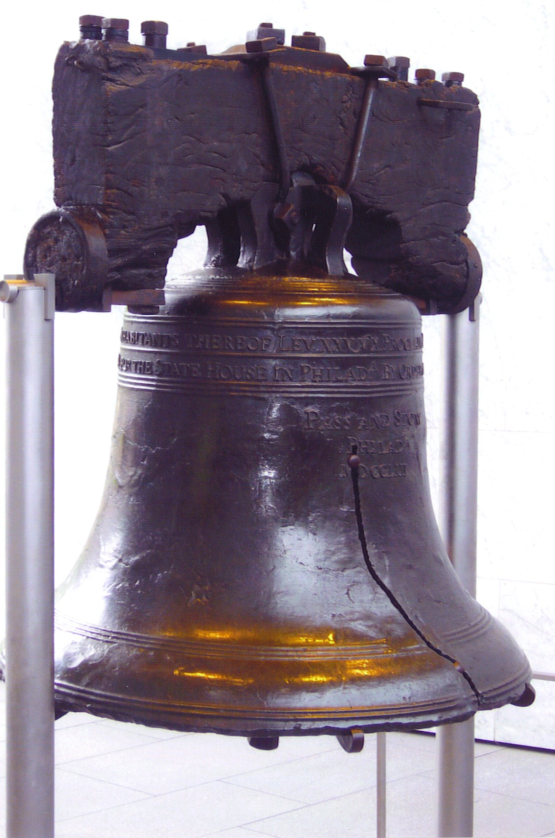 The liberty bell how clang became clank tom reeders blog it is not just the symbol biocorpaavc Images