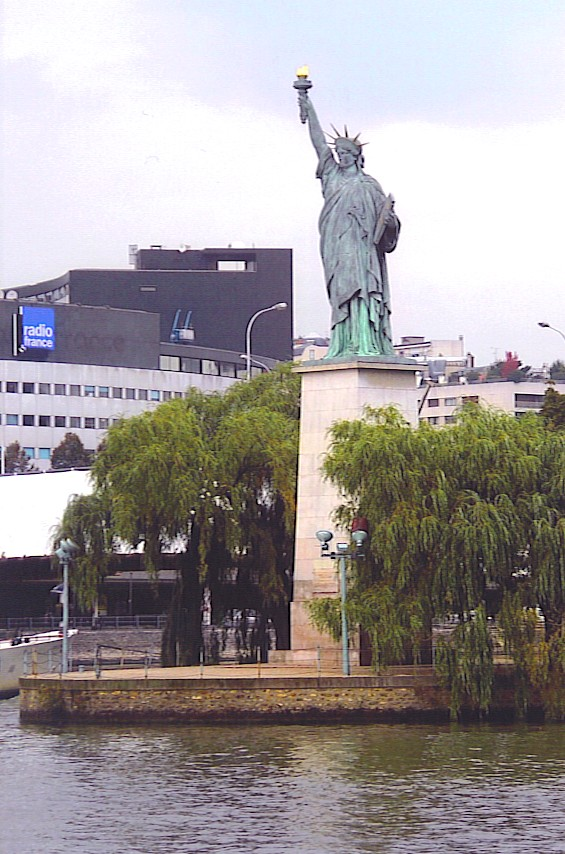The Other Statue Of Liberty Tom Reeders Blog - Where is the statue of liberty located