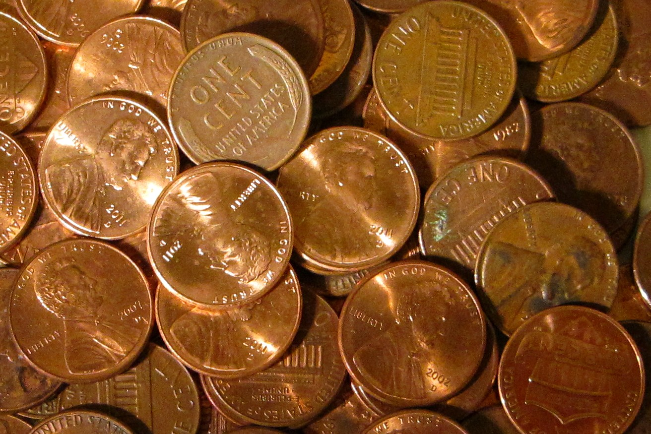 Pictures of copper pennies How to Sell Copper (with Pictures) - wikiHow