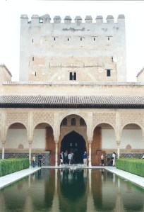 Court of the Myrtles, The Alhambra -- Granada, Spain
