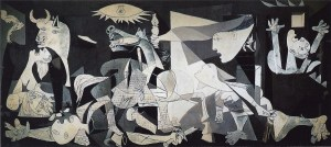 """Pablo Picasso, """"Guernica"""" (1937)  Museo Nacional Centro de Arte Reina Sofia, Madrid"""