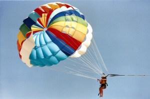 Parachute + Sailing = Parasailing