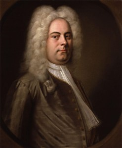 George Frideric Handel, bigwig composer -- portrait by Balthasar Denner, c. 1727