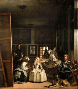 Las Meninas, by Diego Velazquez (1656) -- Museo del Prado, Madrid